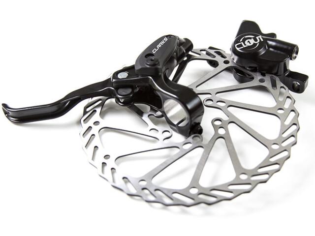 pakistaní Agente de mudanzas Separar  Clarks Clout 1 Hydraulic Disc Brake Set + 160mm Rotors at bikester.co.uk